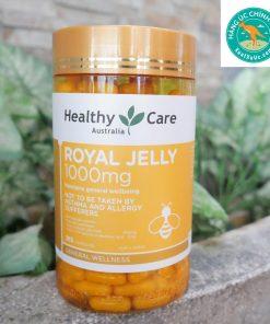 Sữa ong chúa Úc Healthy Care Royal Jelly 1000mg 365 Viên [MẪU MỚI]