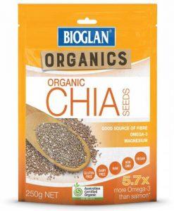 Hạt chia Bioglan chia seeds 250g