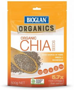 hạt chia bioglan chia seeds 500g