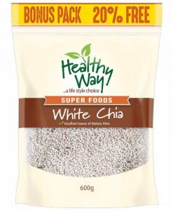 Hạt chia trắng Healthy way white Chia 600g