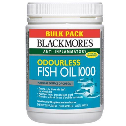 dầu cá không mùi blackmores
