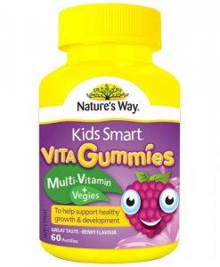 Kẹo mềm Vitamin và rau xanh dành cho trẻ em