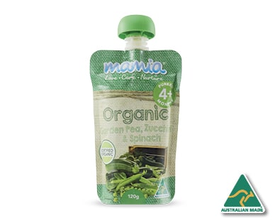 Thức uống hữu cơ: đậu hà lan, bí ngồi, rau bó xôi