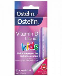 Vitamin D cho bé Ostelin