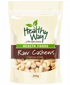 Hạt điều Healthy Way Raw Cashews