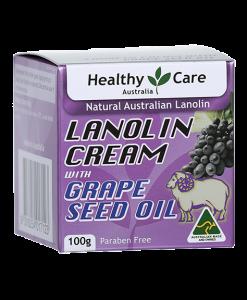Kem dưỡng da Lanolin với dầu nho