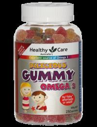Kẹo mềm bổ sung Omega 3 cho trẻ em