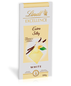 Sô cô la trắng Lindt Excellence Extra Silky
