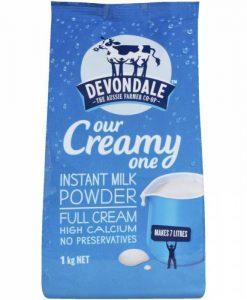 Sữa bò nguyên kem Devondale 1kg