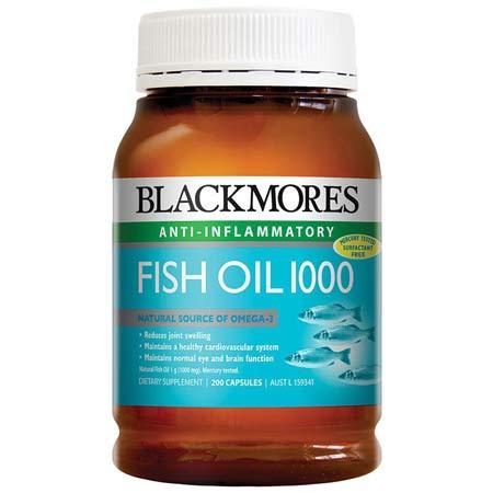 dầu cá blackmores 200 viên