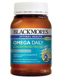 Dầu cá omega 3 blackmores hàng ngày
