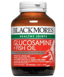 Thuốc bổ xương khớp Glucosamine + dầu cá