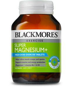 Thực phẩm chức năng bổ sung Magie Blackmores Super+ 100 Viên
