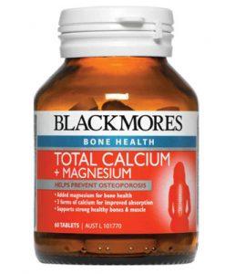 Thuốc bổ sung Canxi và Magie Blackmores Total Calcium + Magnesium