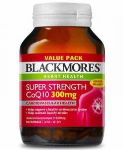 Thuốc bổ tim mạch Blackmores Super Strength CoQ10 300mg