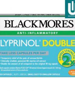 Thuốc chữa đau xương khớp Blackmores Lyprinol là một chất chống viêm có chứa chiết xuất lipid biển từ vẹm xanh. Có vô số loài trai trên khắp thế giới; tuy nhiên nó chỉ là chiết xuất axit béo từ vẹm xanh (Perna canaliculus) có chứa nhóm acid béo duy nhất này. Các loài vẹm xanh được sử dụng trong LYPRINOL được tìm thấy ở vùng biển New Zealand. Nghiên cứu về tính chất điều trị của nó đã được chứng minh bằng các kết luận: tỷ lệ mắc bệnh viêm khớp thấp ở những người dân Maoris ở ven biển. Họ tiêu thụ một lượng lớn trai xanh, trong khi đó Maori có cùng tần suất bệnh viêm khớp như New Người Zealand gốc Âu. LYPRINOL có thể giúp làm giảm tình trạng viêm phổi và sưng tấy bằng cách ức chế hoạt động của các enzim liên quan đến các đường dẫn amoniac (gọi là đường LOX và COX). Các nghiên cứu đã tìm ra LYPRINOL giúp làm giảm đau khớp, và tăng độ cứng của viêm khớp.
