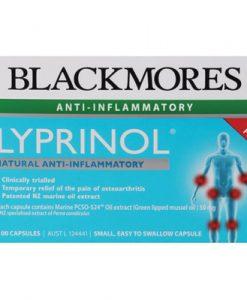 Thuốc giảm đau xương khớp Blackmores Lyprinol Marine 100 viên