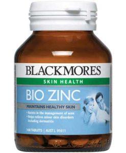 Viên bổ sung kẽm Bio Zinc Blackmores 168 viên