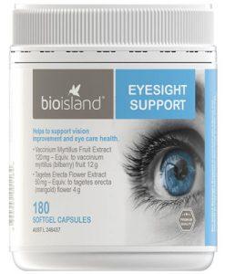 Viên uống bổ mắt Bio Island Eyesight Support