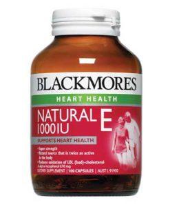 Viên uống bổ sung vitamin E blackmores