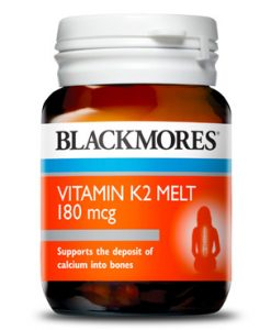 Viên uống Vitamin K2 Blackmores K2 180mcg 30 Viên của Úc