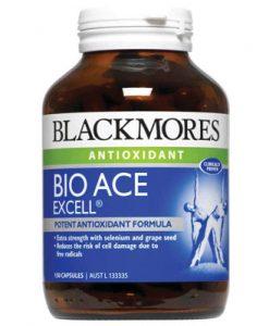 Bổ sung chất chống oxy hóa mạnh mẽ Blackmores Bio Ace Excell 150 Viên
