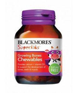 Kẹo nhai bổ xương cho trẻ em Blackmores Superkids Growing Bones