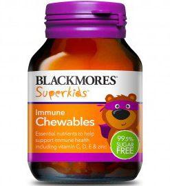 Kẹo nhai tăng cường hệ miễn dịch cho trẻ em Blackmores Superkids Immune 60 Viên