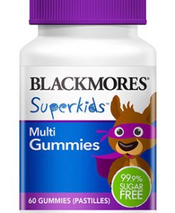 Kẹo Vitamin tổng hợp cho trẻ em Blackmores Superkids Multi 60 Viên