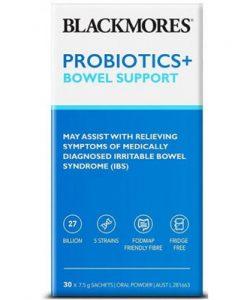 Men vi sinh hỗ trợ đường ruột Blackmores Probiotics+ Bowel Support
