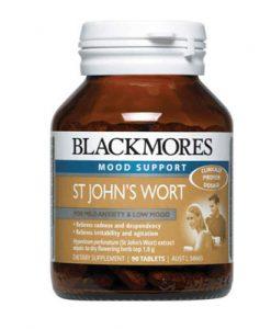 Thuốc an thần giảm căng thẳng Blackmores Hyperiforte St John's Wort 1800mg 90 Viên