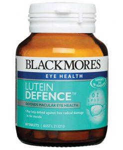Thuốc bảo vệ điểm vàng của mắt Blackmores Lutein Defence 60 Viên