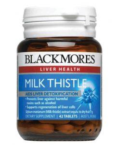 Thuốc bổ gan Milk Thistle Blackmores 42 Viên [Cây Kế Sữa]