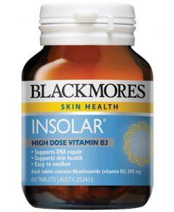 Thuốc bổ sung Vitamin B Blackmores Insolar 60 Viên