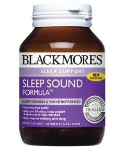 Thuốc bổ thần kinh giúp ngủ ngon Blackmores Sleep Sound 60 Viên