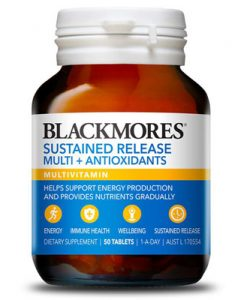 Thuốc bổ vitamin tổng hợp blackmores sustained release multi antioxidant