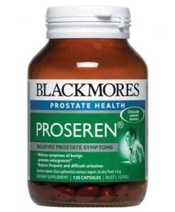 Thuốc đặc trị phì đại tiền liệt tuyến Blackmores Proseren Prostate Support 120 Viên