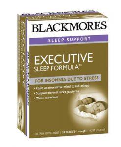 Thuốc giúp ngủ ngon Blackmores Executive B Sleep Formula 28 Viên