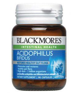 Thuốc hỗ trợ đường tiêu hóa Blackmores Acidophilus Bifidus 90 Viên