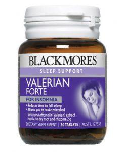 Thuốc hỗ trợ giấc ngủ Blackmores Valerian Forte 2000mg 30 viên