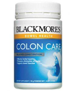 Thuốc nhuận tràng thảo dược Blackmores Colon Care Herbal Laxative 90g