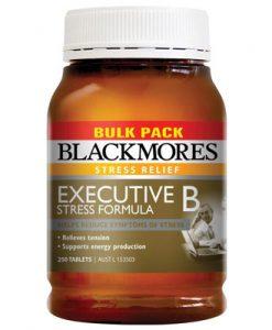 Thuốc uống giảm stress Blackmores Executive B 250 Viên