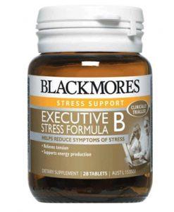 Thuốc uống giảm stress Blackmores Executive B 28 Viên