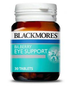 Viên uống bổ mắt Blackmores Bilberry Eye Support 30 Viên