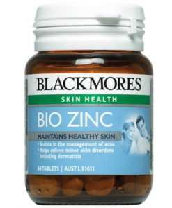 Viên uống bổ sung kẽm Blackmores Bio Zinc 84 Viên của Úc