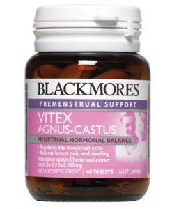 Viên uống cân bằng nội tiết tố nữ Blackmores Vitex Angus Castus