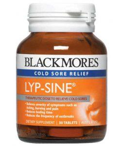 Viên uống trị nhiệt miệng Blackmores Lypsine 30 Viên