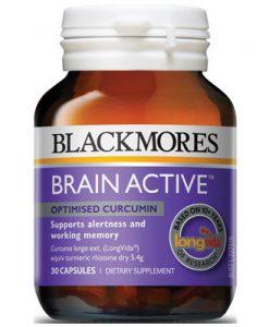 Viên uống tuần hoàn não Blackmores Brain Active 30 Viên