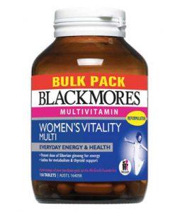 Vitamin tổng hợp dành cho phụ nữ Blackmores Women's Vitality Multi