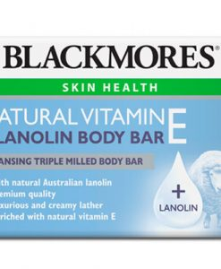 Xà phòng tắm Vitamin E tự nhiên và nhau thai cừu Blackmores